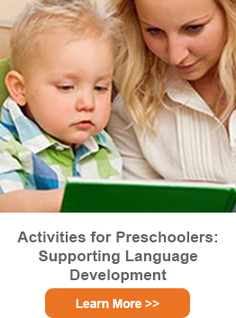 Activities for Preschoolers: Supporting Language Development