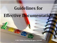 Guidelines for Effective Documentation